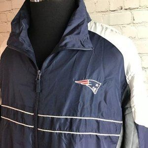 Dunbrooke SI New England Patriots windbreaker XL
